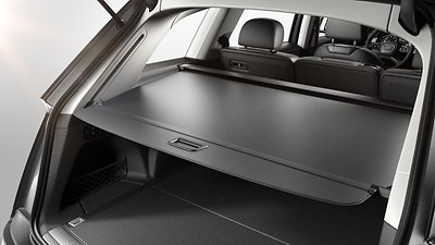 Electric luggage compartment cover
