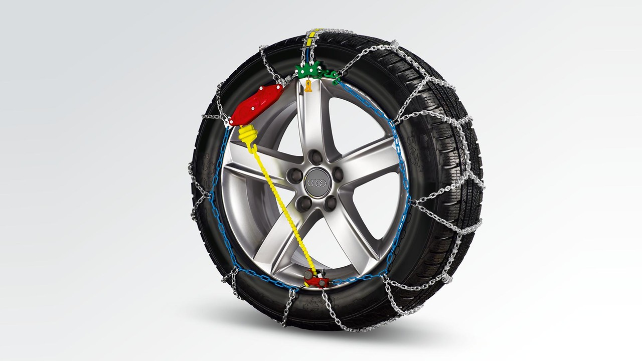 Snow chains, comfort class, for 225/50 R18, 235/45 R19, 235/55 R17, 235/60 R16, 235/55 R17 or 235/50 R18