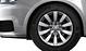 Cast aluminium alloy wheels, 10-spoke design, size 7J x 16, with 215/45 R 16 tyres