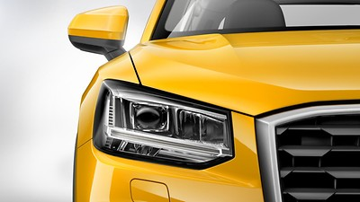 LED headlamps incl. dynamic turn signal in rear