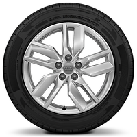 "18"" x 8J '5-V-spoke  design' alloy wheels with 235/60 R18 tyres"