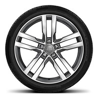 "19"" x 9J '5-Arm Star' design alloy wheels with 245/35 R19 tyres"