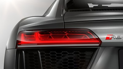 LED rear lights with dynamic rear indicators