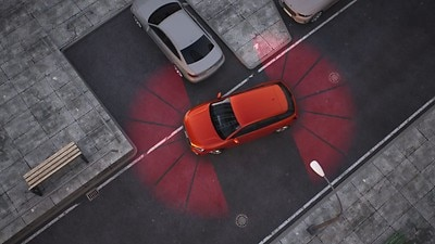 Park assist with parking aid plus