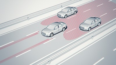 Audi active lane assist et Audi side assist