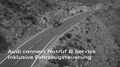 Audi connect Notruf & Service mit Audi connect Remote & Control