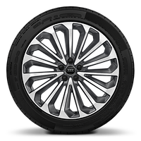 21x9.5J 15-spoke alloy