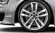 Легкосплавные диски Audi Sport, дизайн «5 двойных рукавов», размер 9J x 21