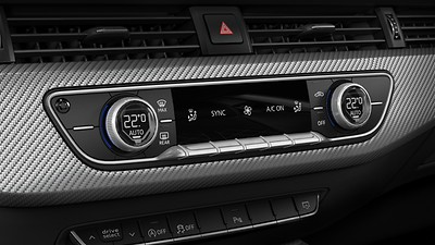 Deluxe 3-zone electric climate control
