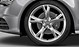 Cast aluminium alloy wheels, 5-arm
