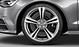 Cast aluminium alloy wheels, 5-parallel-spoke star design, (S design), 8.5 J x 20, 255/35 R 20 tyres