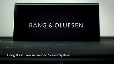 Bang & Olufsen Advanced Sound System z dźwiękiem 3D
