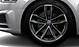 Aluminium-Gussräder im 5-Speichen-Cavo-Design (S-Design), kontrastgrau, teilpoliert, Größe 8,5 J x 19, mit Reifen 255/35 R 19