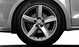 """17"""" alloy wheels in 5-arm design with 215/40 tyres"""