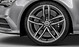 Audi Sport cast alum. alloy wheels, 5 twin-spoke des., matt titan. look, mach.-pol., 8.5Jx20, w. 265/35 R20 tyres