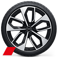 "Audi Sport 20"" Alloy wheels 9J x 20"