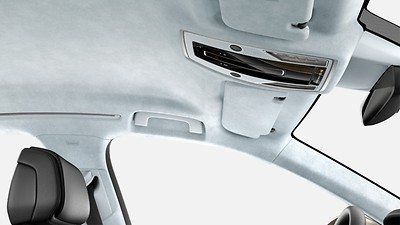 Headliner in Alcantara, Audi exclusive
