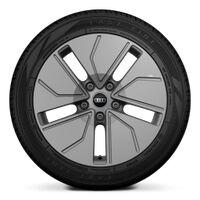 Wheels, 5-segment aero, platinum gray