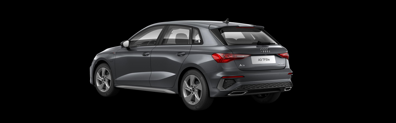 A3 Sportback e-tron back-side