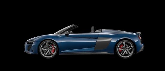 R8 Spyder V10 performance