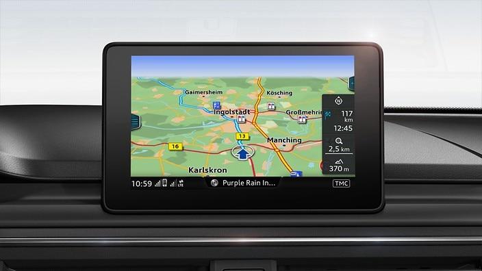 MMI navigacija s paketom Advance